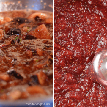 Sweet and Spicy Fig Jam | The Kitchen Girl