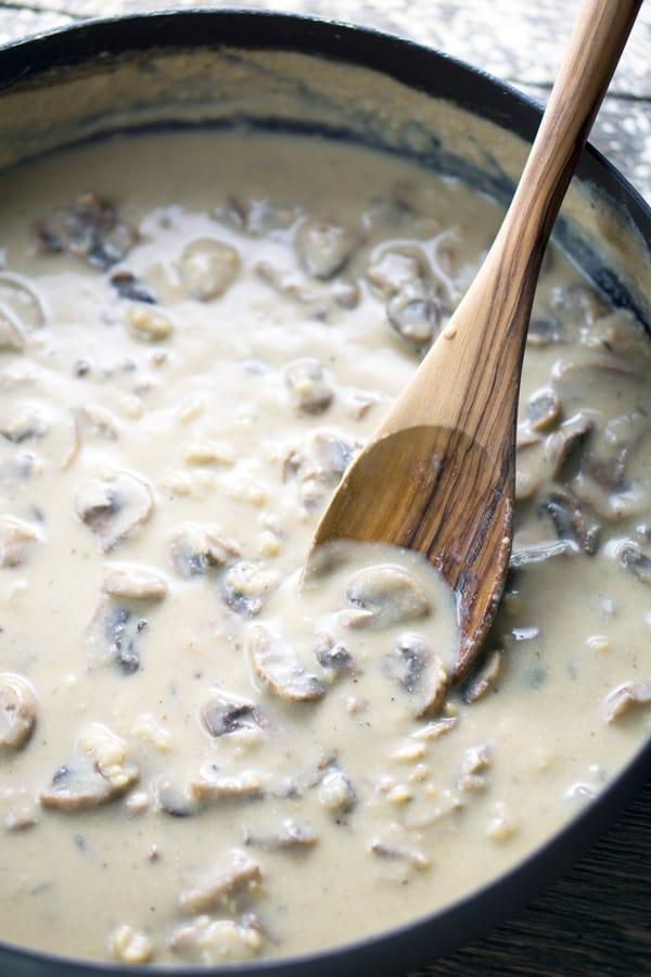 Vegan Cream Of Mushroom Soup Gluten Free The Kitchen