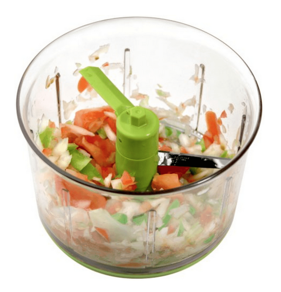 Chef'n® VeggieChop Hand-Powered Food Chopper| Essential Kitchen Tools by The Kitchen Girl®