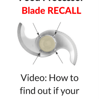 This video will help you navigate the Cuisinart Food Processor Blade Recall. Take action for safety and blade replacement. thekitchengirl.com