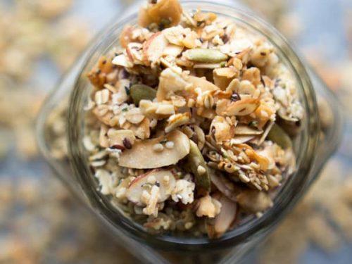 Healthy Granola Recipe Homemade Granola Video The Kitchen Girl