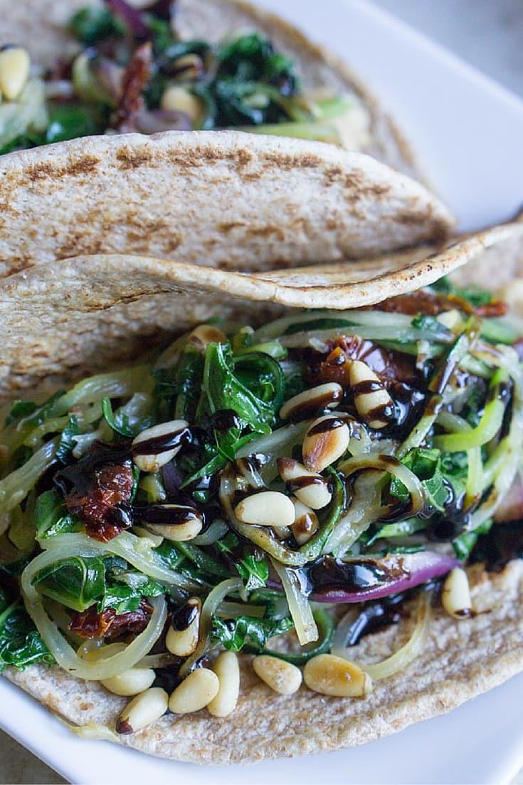 Garden Zoodle Veggie Wrap - The Kitchen Girl®