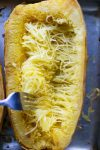 How to cook spaghetti squash. How to bake whole squash without cutting it raw #spaghettisquash #lowcarb #howtocook #wholespaghettisquash #wintersquash #whole30