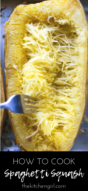 How to cook spaghetti squash. How to bake squash without cutting it raw #spaghettisquash #vegan #glutenfree #paleo #lowcarb #squash #whole30