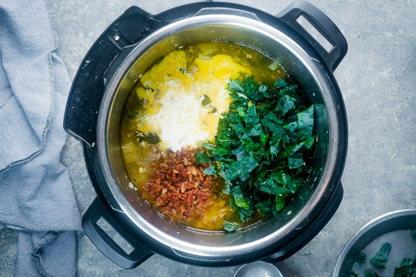 zuppa toscana ingredients in Instant Pot