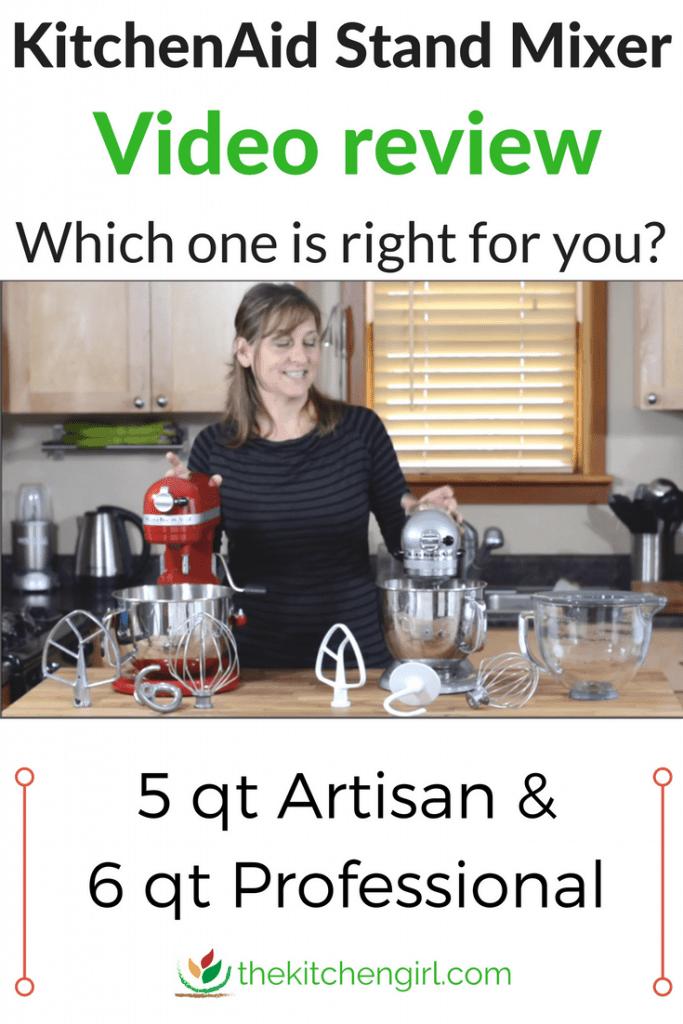 Kitchenaid Stand Mixer Review Artisan Vs Professional 600