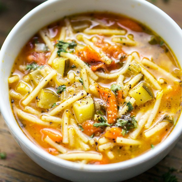 Minestrone Soup Recipe For Instant Pot Or Stove The Kitchen Girl