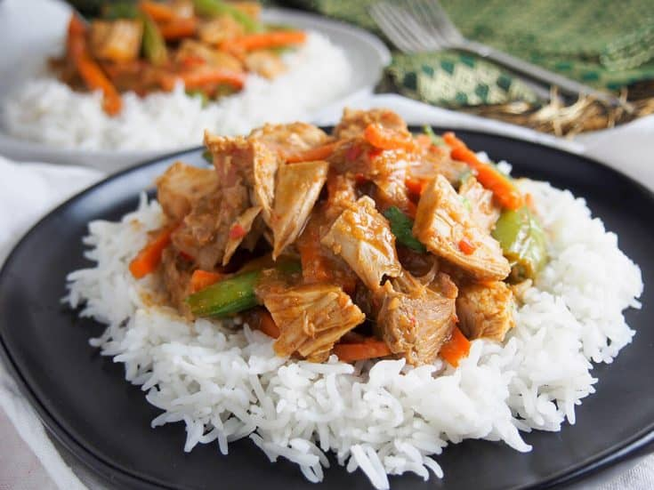 Thai red curry (perfect for leftovers)