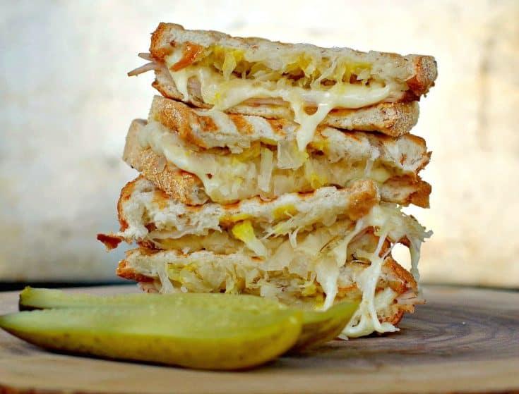 Weight Watchers Turkey Reuben Sandwich