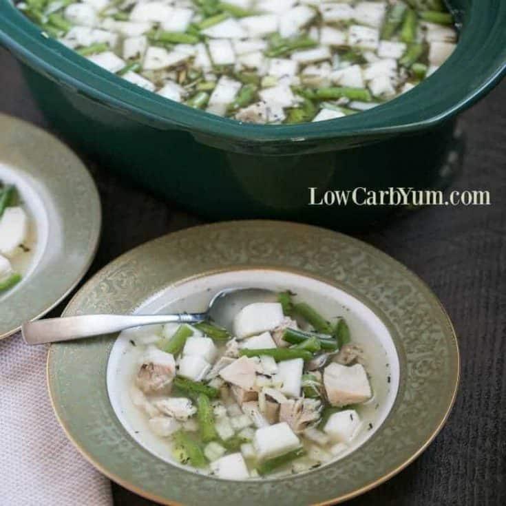 Leftover Turkey Stew in the Slow Cooker Crock Pot