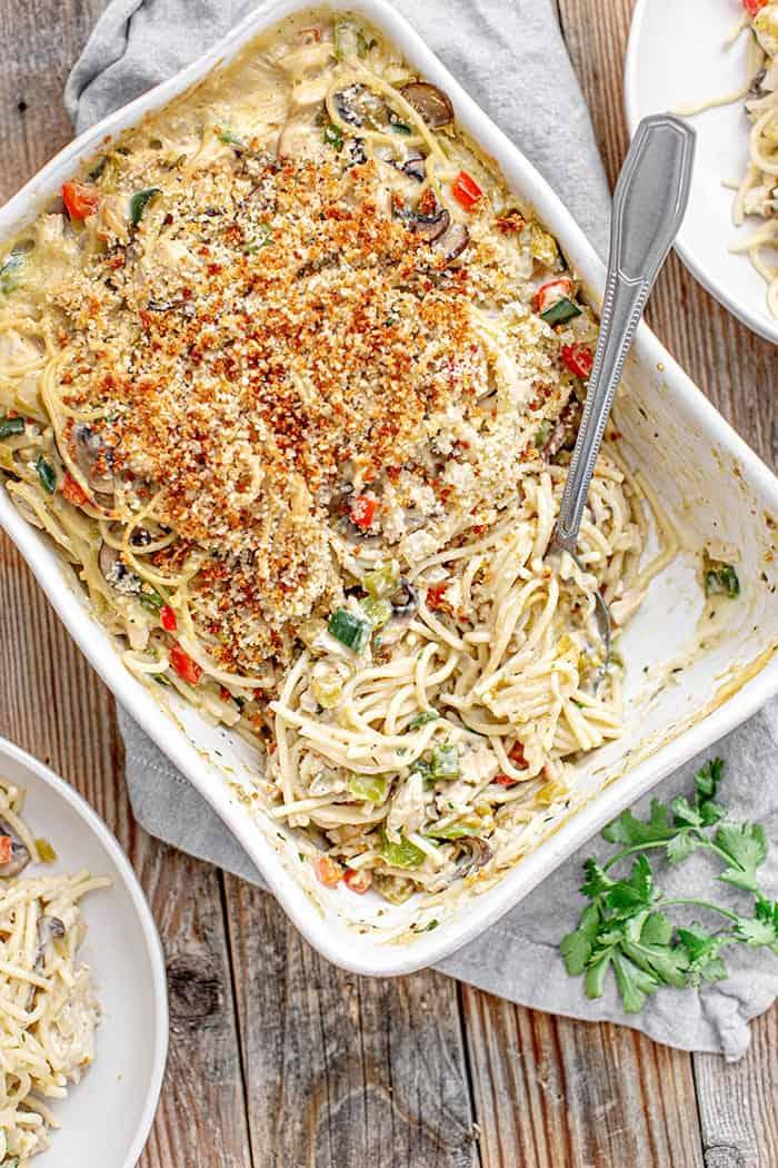 Green Chile Turkey Tetrazzini
